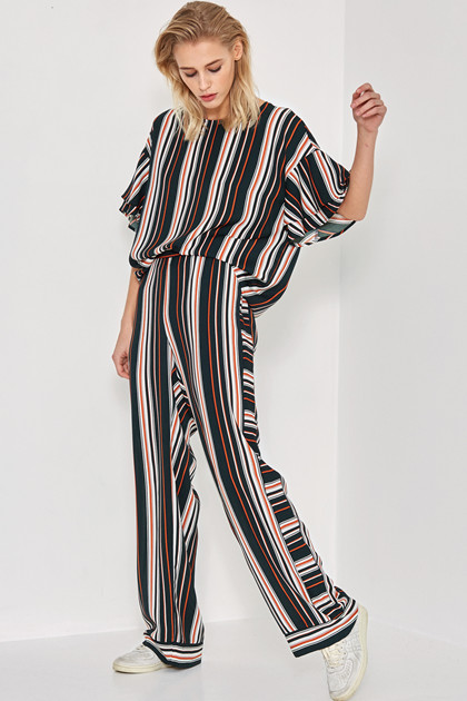 Denim Hunter LEIGHTON STRIPED BLUSE 10701877