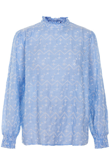 b.young GWENDOLYN SMOCK BLOUSE 20803552