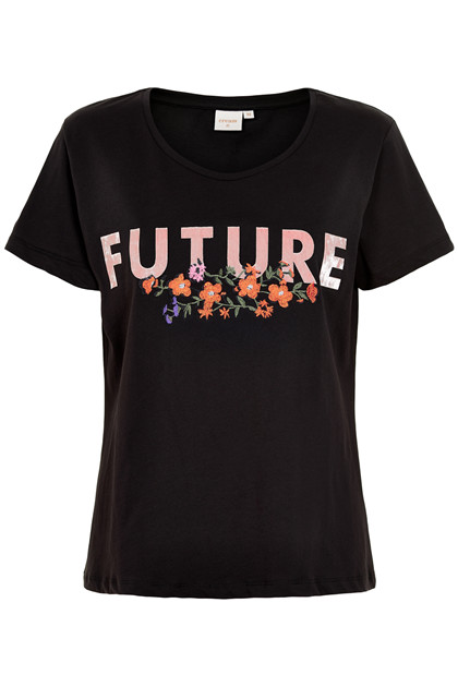 CREAM FLOWER T-SHIRT 10650204