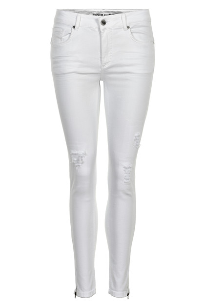 Denim Hunter CELINA ZIP TORN JEANS 10701894 O