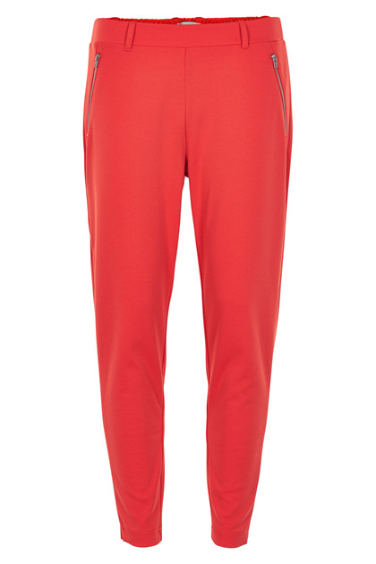 ICHI KATE ZIP PANTS 20106363-16254