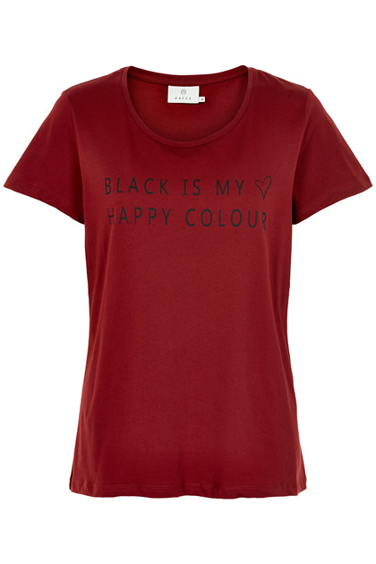 KAFFE BLACK T-SHIRT 10502370 S