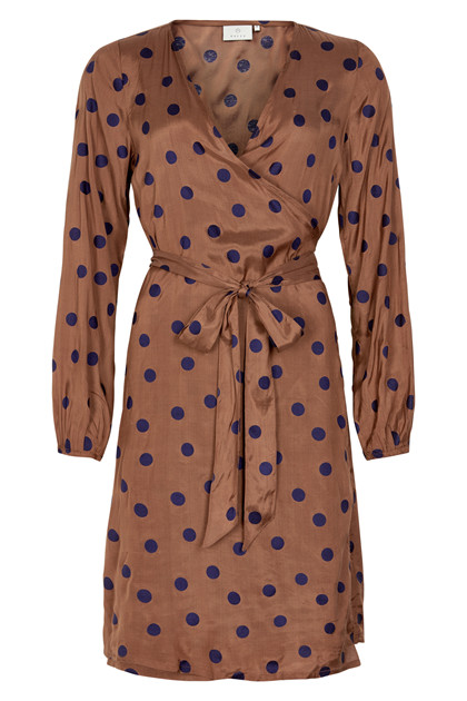 KAFFE KAOLINE MMM WRAP DRESS 10551200
