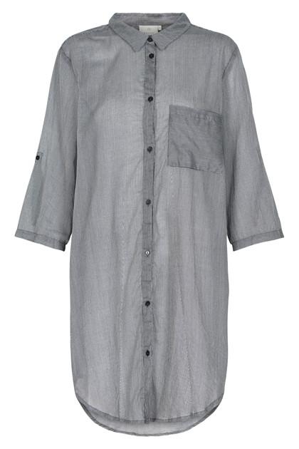KAFFE LINE SIGNE 3/4 SHIRT DRESS 10551228 A