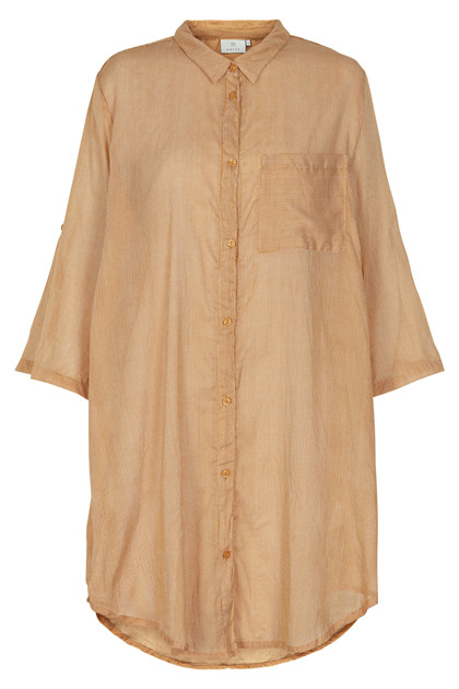 KAFFE LINE SIGNE 3/4 SHIRT DRESS 10551228 B
