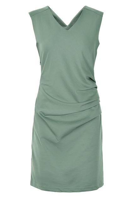 KAFFE INDIA DRESS V-NECK 501007 D