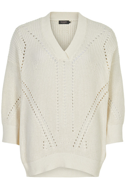 SOAKED IN LUXURY SL OCEANE RODEO 3/4 PULLOVER 30404135 BW