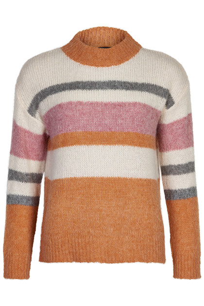 SOAKED IN LUXURY SLSASS STRIPE PULLOVER 30404748