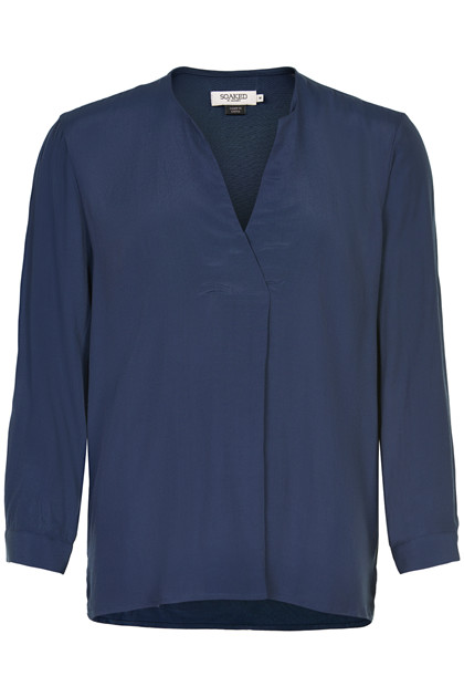 SOAKED IN LUXURY KINSIE BLUSE 30403883 N