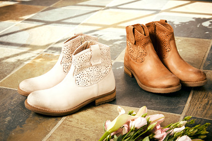 CREAM CASSIE BOOT 10401013 R