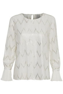 KAREN BY SIMONSEN SHINE BLOUSE 10101066