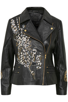 KAREN BY SIMONSEN BAD LEATHER JACKET 10101370
