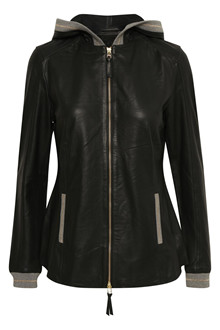 KAREN BY SIMONSEN DATE LEATHER JACKET 10101481
