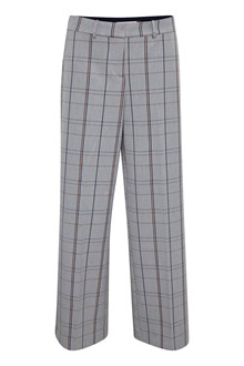 KAREN BY SIMONSEN SYDNEYKB WIDE CHECK PANTS 10102372