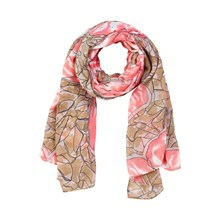 CREAM DELUXE LILLY SCARF 10400017