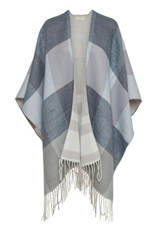 CREAM ALEXA OPEN PONCHO 10400993