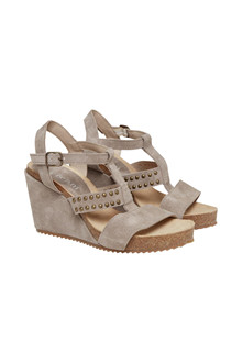 CREAM HALEY SANDAL 10401021