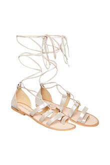 CREAM GLADIATOR SANDAL 10401108