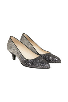 CREAM GLITTER PUMPS 10401362