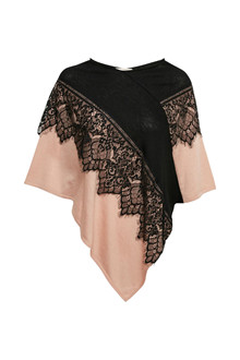 CREAM MADISON PONCHO 10401374