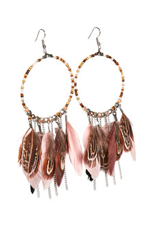 CREAM VERONA EARRINGS 10401555