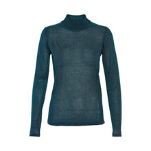 KAFFE ALMA TURTLE NECK STRIK 10500843