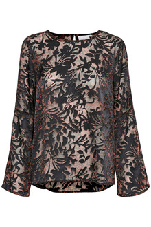 KAFFE DAHLIA BURN OUT BLUSE 10501749