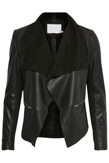 KAFFE BERNADETTA LEATHER JACKET 10501786