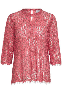 KAFFE SYS LACE BLOUSE 10501881 BR