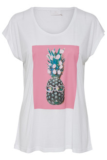 KAFFE PINEAPPLE T-SHIRT 10502232 F