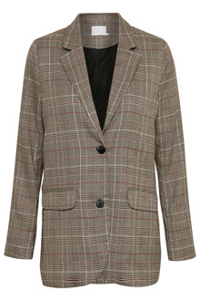 KAFFE BESS CHECKED BLAZER 10502294