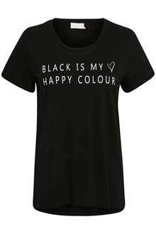 KAFFE BLACK T-SHIRT 10502370