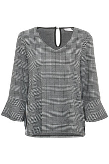 KAFFE DORA CHECKED BLOUSE 10502493