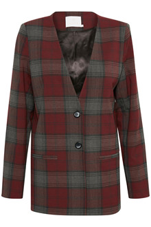 KAFFE MARLI CHECKED BLAZER 10502581