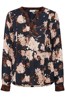 KAFFE FAY FLORAL BLOUSE 10502621