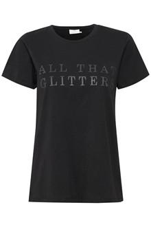 KAFFE GLITTER T-SHIRT 10502760