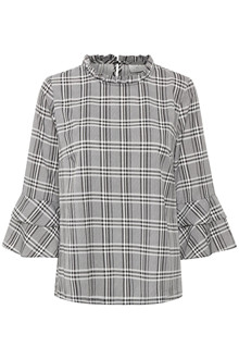 KAFFE DEBBIE CHECKED BLOUSE 10502870