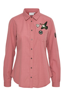 KAFFE HOLLY BADGE SHIRT 10550420