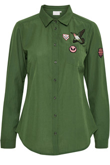 KAFFE HOLLY BADGE SHIRT 10550420 O
