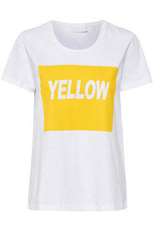 KAFFE YELLOW T-SHIRT 10550848