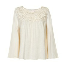 CREAM RAGNA BLOUSE 10600331