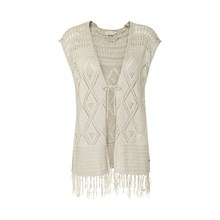 CREAM PIERIS VEST 10600835