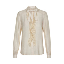 CREAM AUGUSTUS BLOUSE 10600928