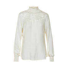 CREAM ANTORINETTE BLOUSE 10600949
