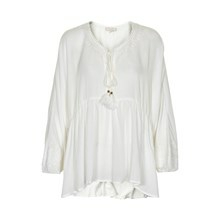 CREAM VIKKI BLOUSE 10601231