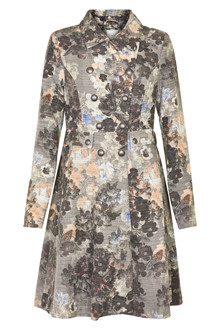 CREAM MONROE PRINTED COAT 10601449