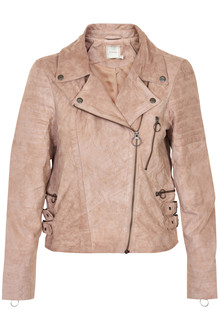 CREAM MARION SUEDE JACKET 10601452