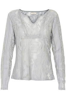 CREAM MILA LACE BLOUSE 10601481