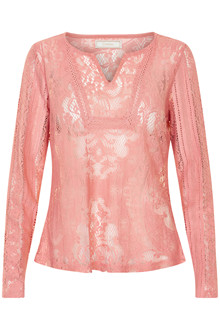 CREAM MILA LACE BLOUSE 10601481 R