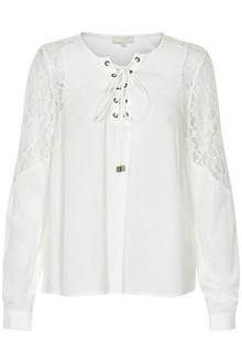 CREAM SANDRO BLOUSE 10601486